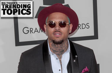Chris Brown At the Grammy's