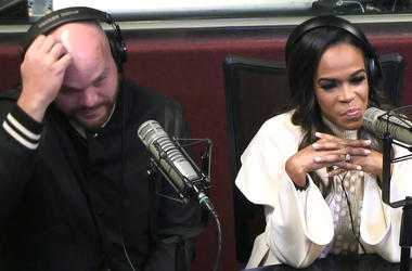 """Michelle Williams & Chad Johnson stop by the Frank & Wanda in the Morning Show to discuss what viewers did not see on """"Chad Loves Michelle"""" about their comments on her mental health and their interracial relationship."""