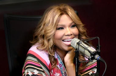 Mona Scott Young In Studio With Big Tigger