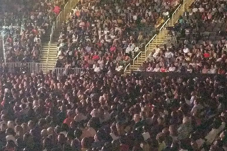 A sold out crowd attended Michelle Obama book tour event in Atlanta GA Saturday night.