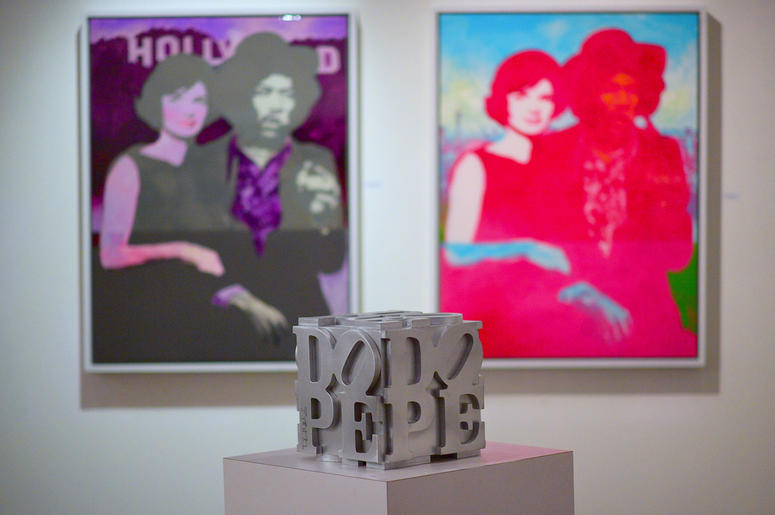 "Art created by D.L. Warfield displayed at his ""My Favorite Things"" Art Exhibit in Atlanta; November 30, 2018."