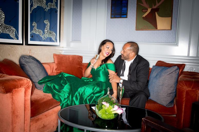 Frank Ski and wife Patrice Basanta-Henry