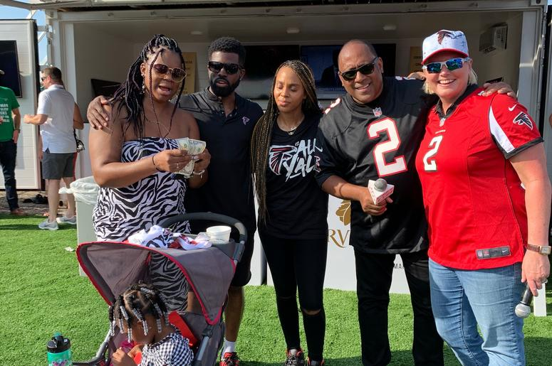 Falcons Tailgate For The Home Opener 2019