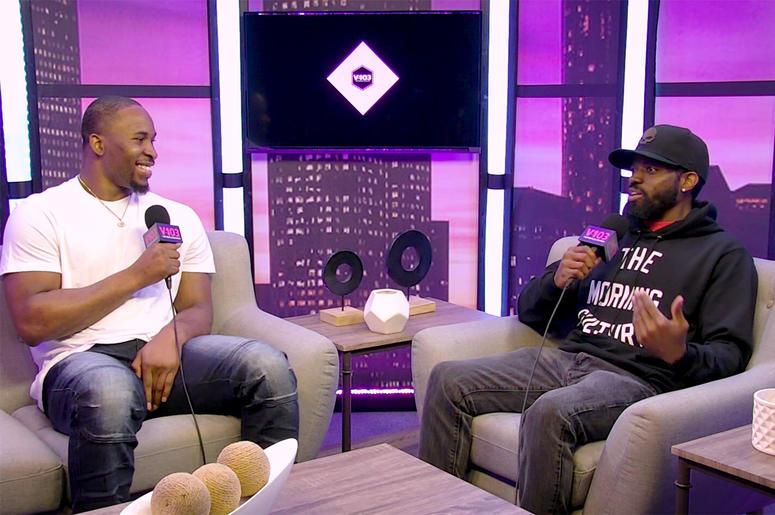JR interviews D'Andre Walker
