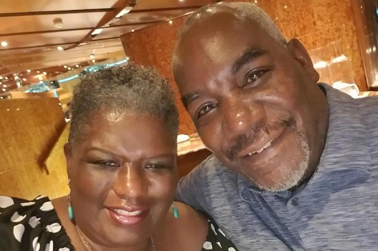 Joyce Littel and husband James H. Jackson