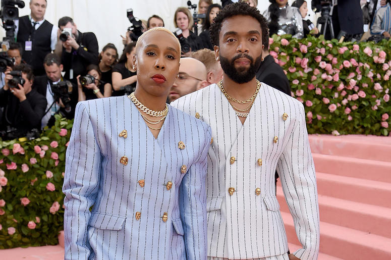 Lena Waithe and Kerby Jean-Raymond attend the 2019 Met Gala.