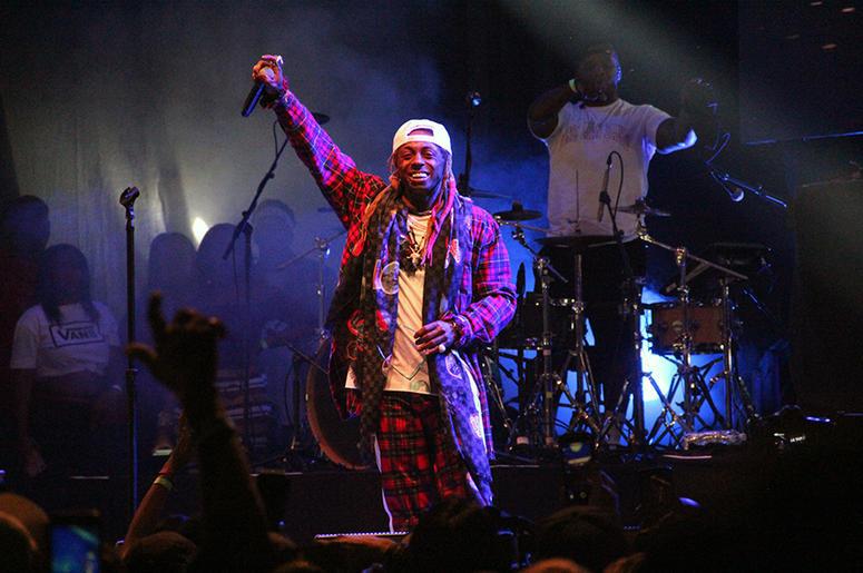 Lil' Wayne performs at A3C in Atlanta on October 7, 2018