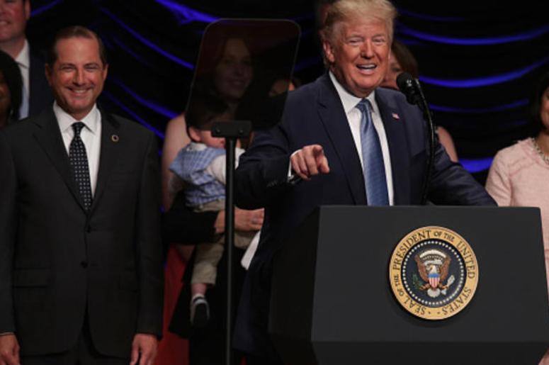 President Trump speaks in Washington D.C. on July 10, 2019
