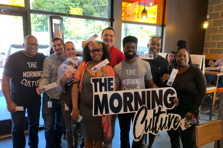 The Morning Culture Blaze Pizza Takeover