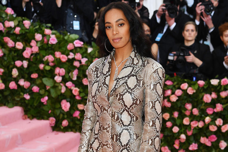 Solange attends the 2019 Met Gala.