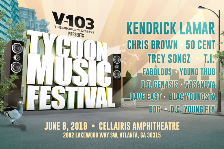 The Tycoon Music Festival full lineup