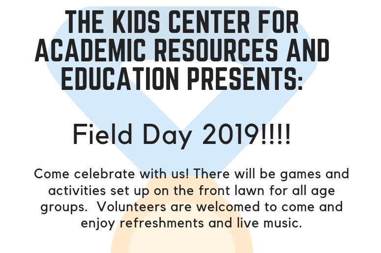 Kids C A R E Field Day 2019 The People S Station V103