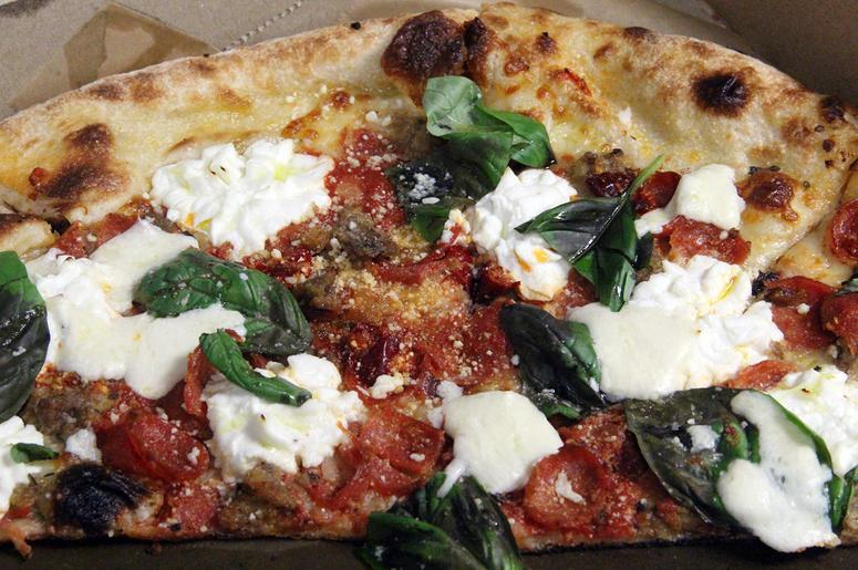 The Vodka Margherita pizza from Nina & Rafi