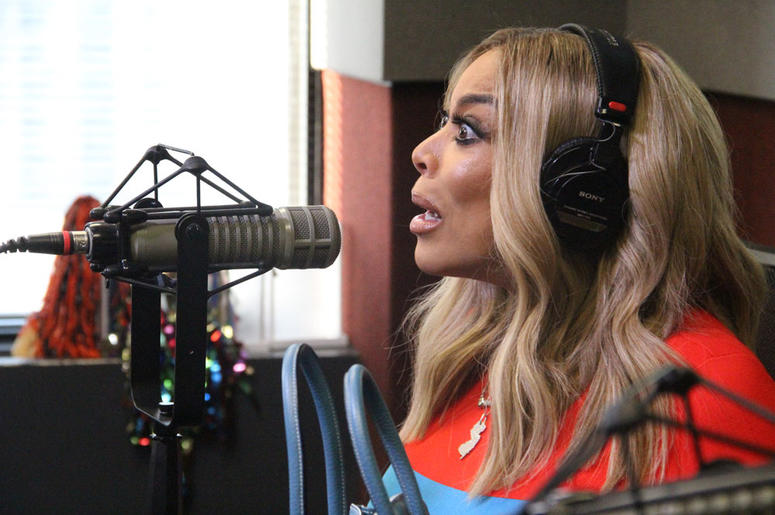 Wendy Williams visits V-103's Frank and Wanda In The Morning August 16, 2018