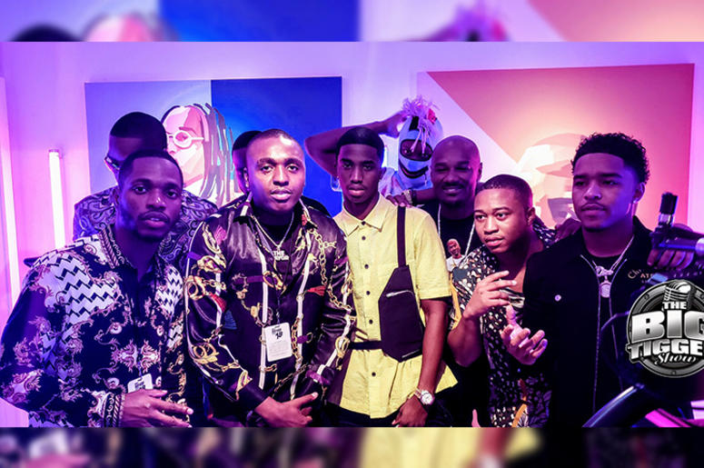 King Combs + More In The Booth