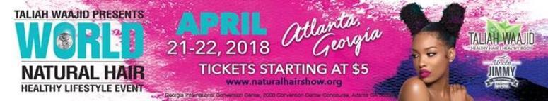 Natural hair show 2018