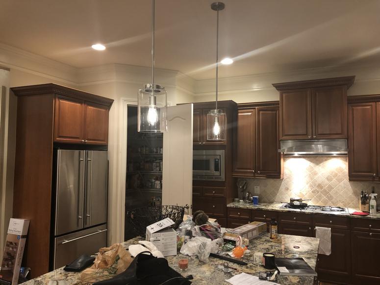 Ramoma DeBreaux's kitchen