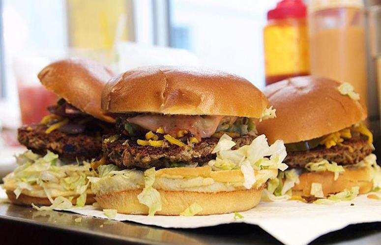 Slutty Vegan Burgers