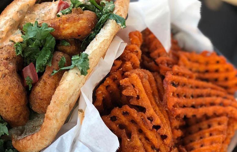Viva la Vegan sandwich