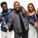 JR, Frank Ski and Jade Novah of V-103's The Morning Culture