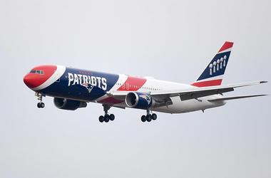 Patriots Plane