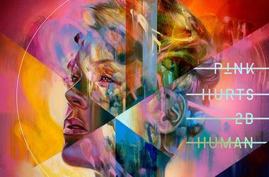 P!nk 'Hurts 2B Human Album Cover
