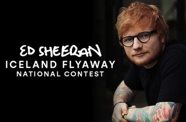 Ed Sheeran Iceland Flyaway - National Contest