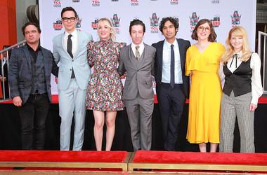 Big Bang Theory cast