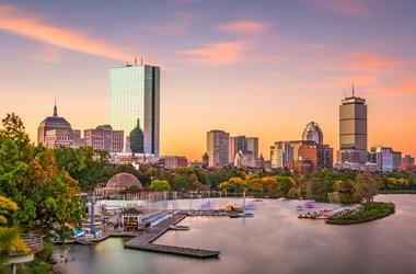 fall boston
