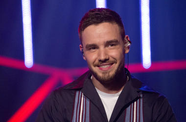 Liam Payne during the filming of the Graham Norton Show