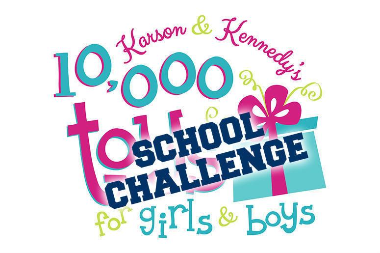 Karson & Kennedy: 10,000 Toys School Update! | Mix 104 1