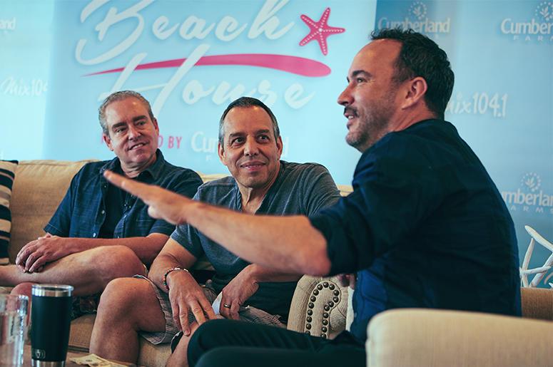 Gregg Daniels & Fast Freddy Interview Dave Matthews