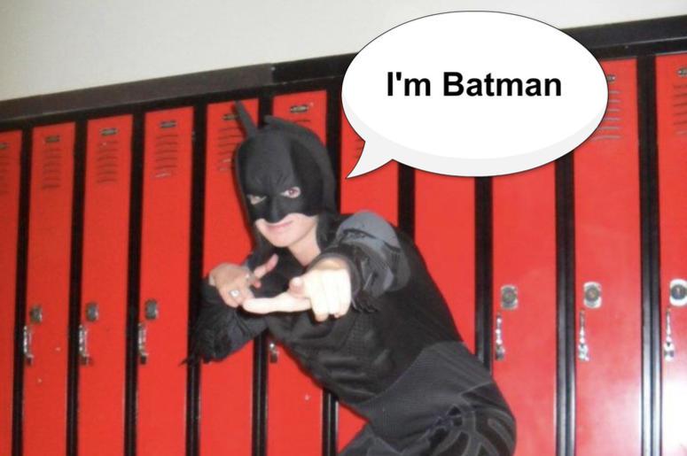 annie is batman