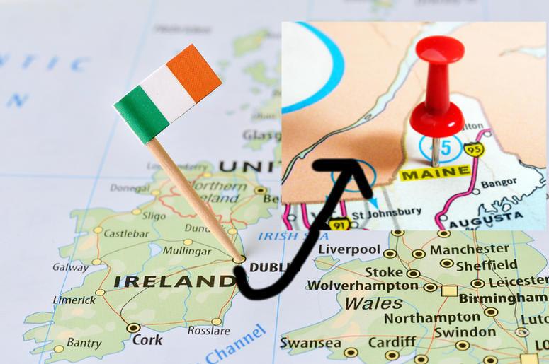 Ireland to Maine