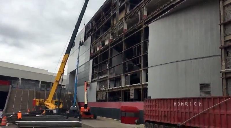 New Video Shows Progress In Demolition Of Joe Louis Arena [VIDEO]