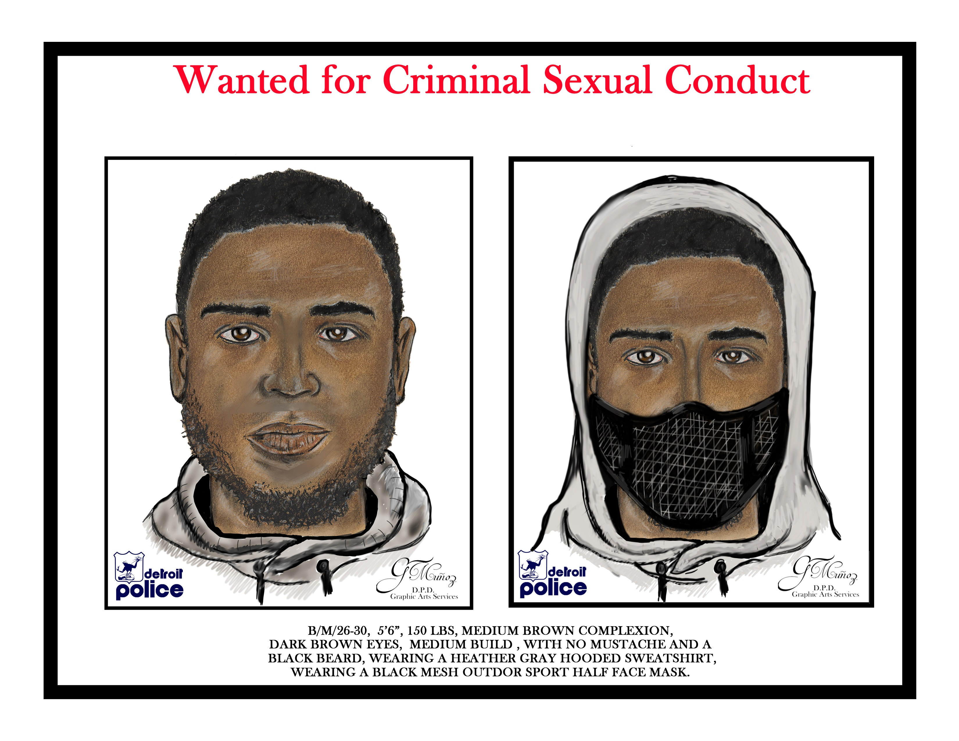 Tips Wanted To ID Suspect In Series Of Sexual Assaults [SKETCH