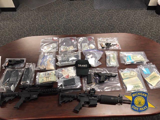 4 Warrants Served, 3 Arrested In State Police Task Force