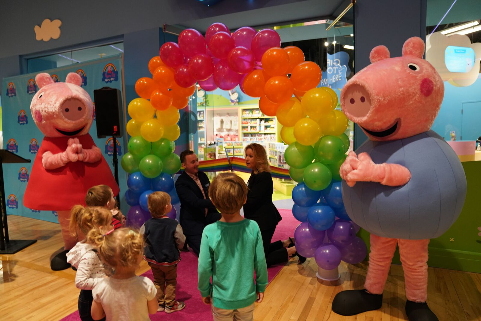 Peppa Pig World Of Play Now Open At Great Lakes Crossing Wwj