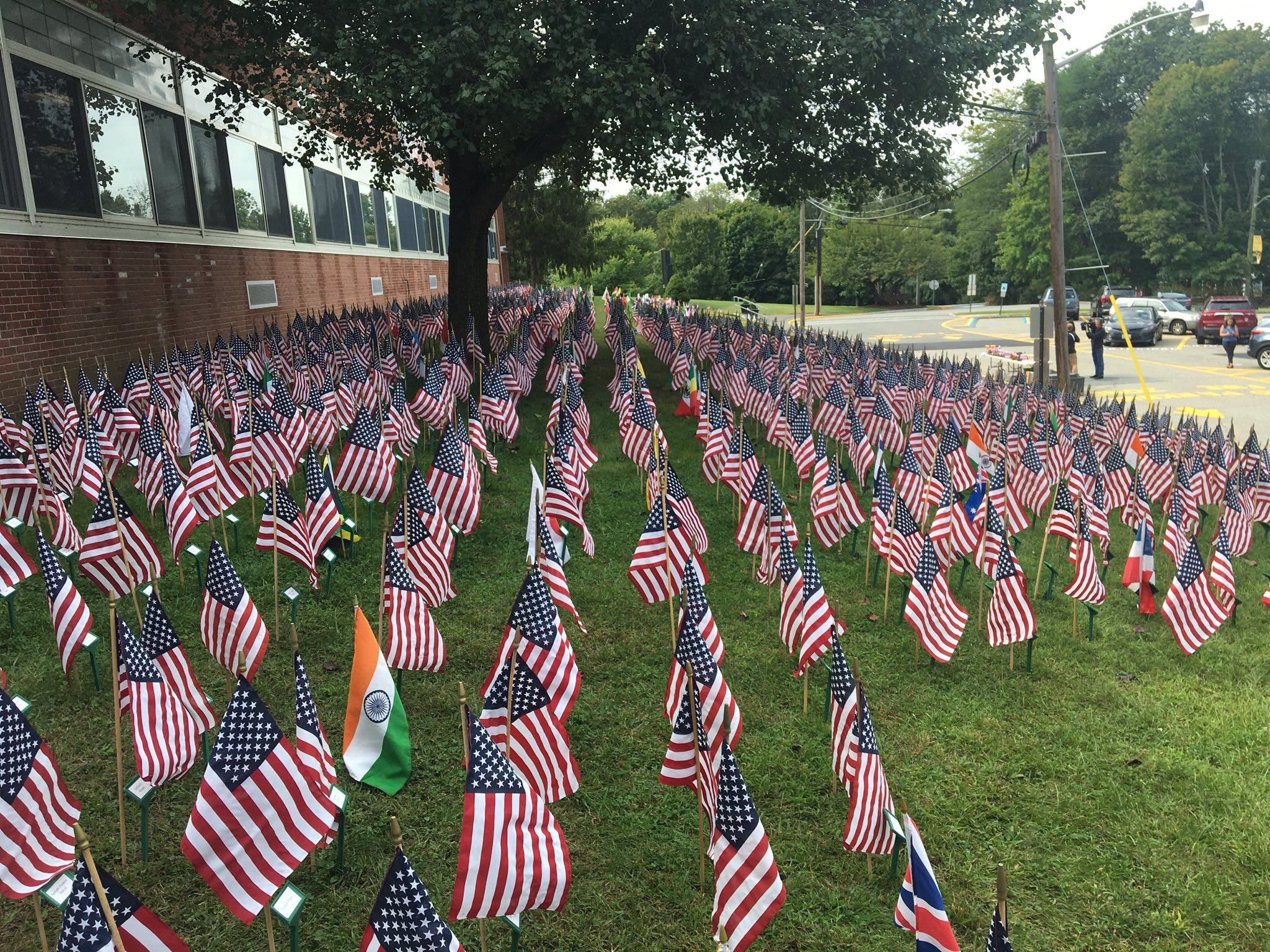 High School's Moving Tribute to 9/11 Victims | WWJ Newsradio 950