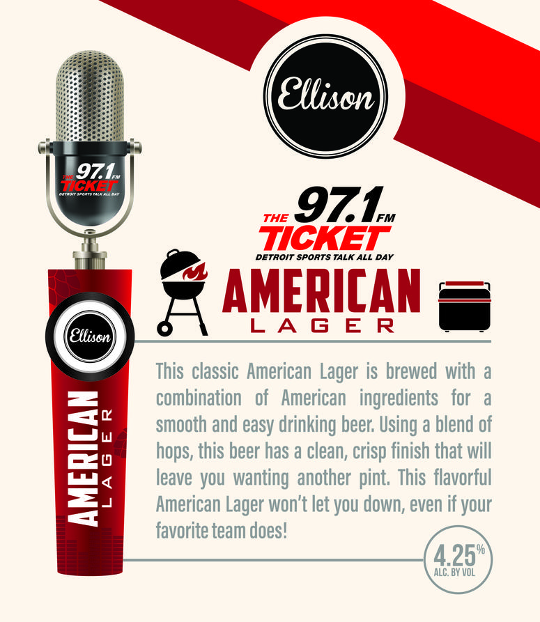 Craft Beer Conversation: 97.1 The Ticket Teams Up With Ellison Brewery And Spirits