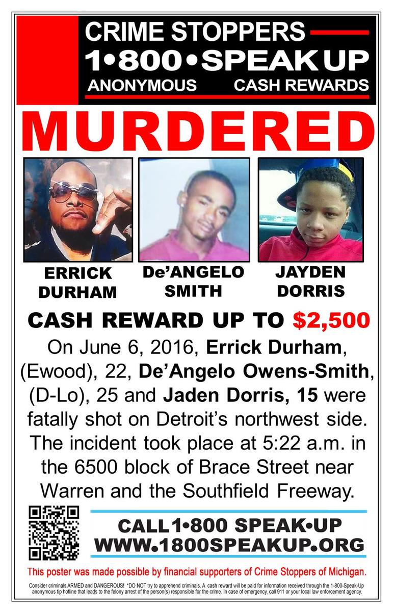 We're Hurting': Families Ask For Tips In 2016 Triple Murder On