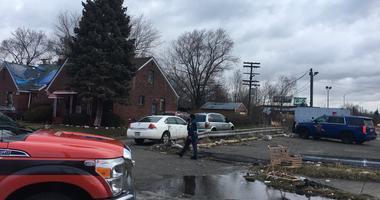 Detroit manhunt