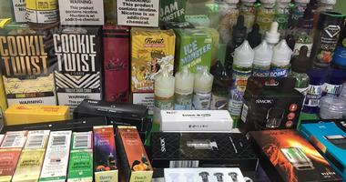 flavored vaping products