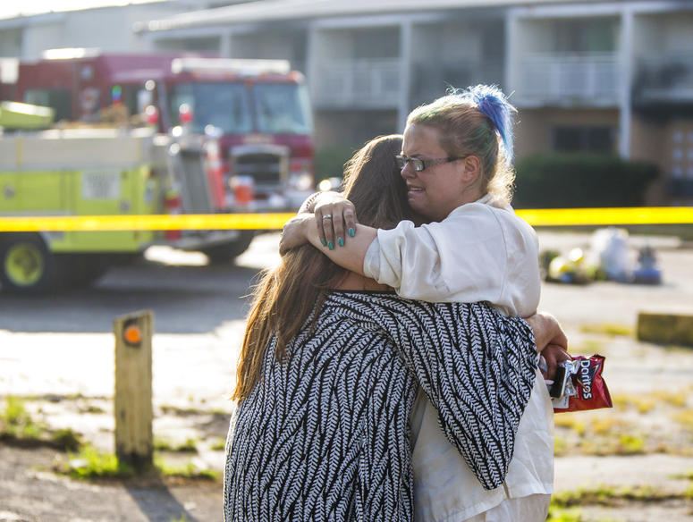 Cosmo Extended Stay Motel fire AP