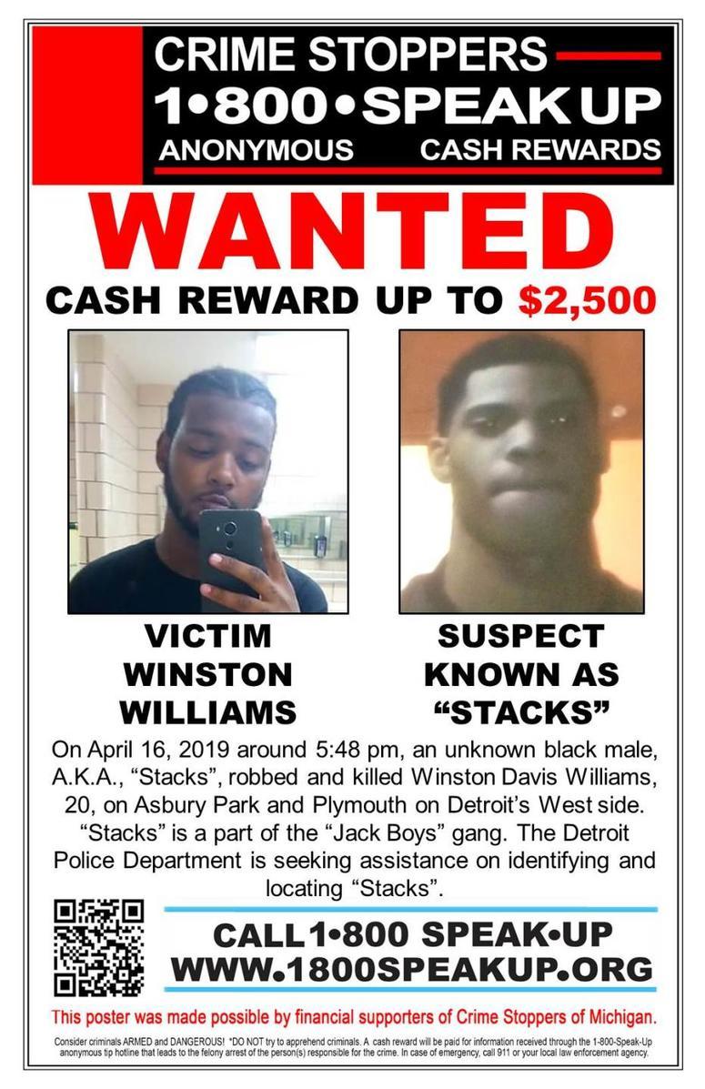 $2,500 Cash Reward Offered For Tips In Detroit Gang-Related