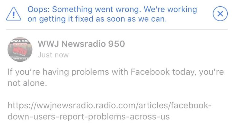 Facebook/Instagram Outage: Users Report Problems Across The