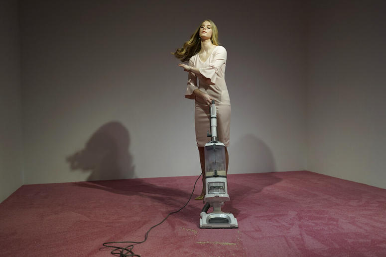 Ivanka Vacuuming
