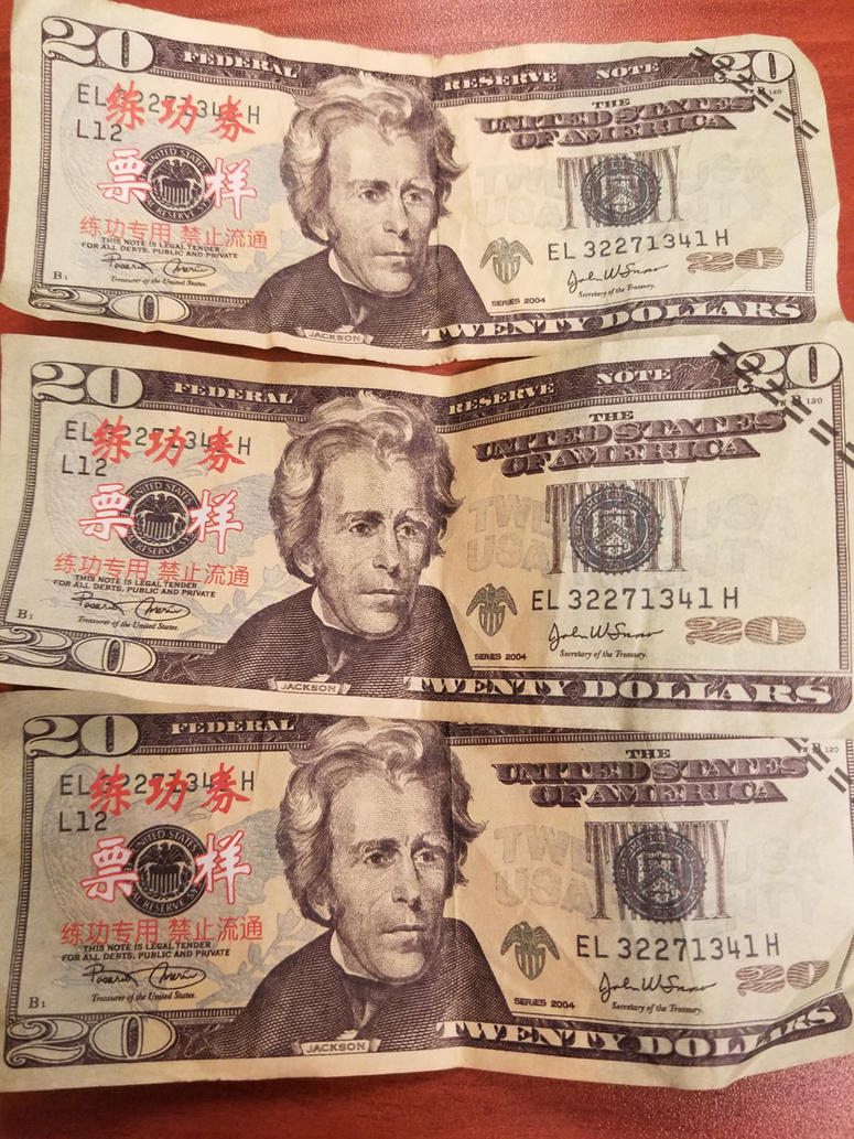 counterfeit cash