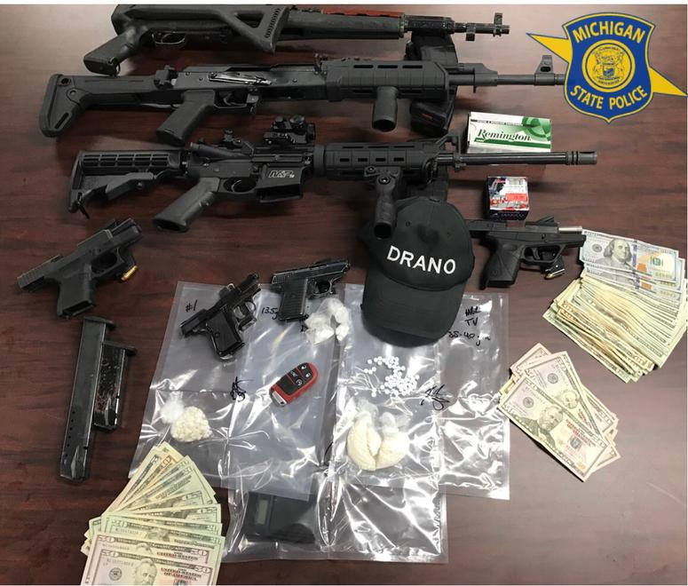 State Police Bust Heroin, Crack Dealers Targeting Taylor