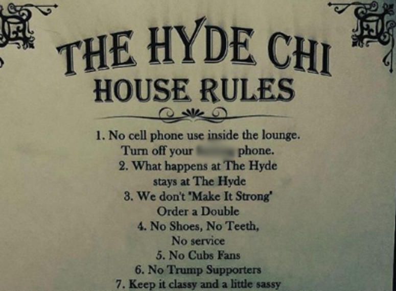 hyde house rules